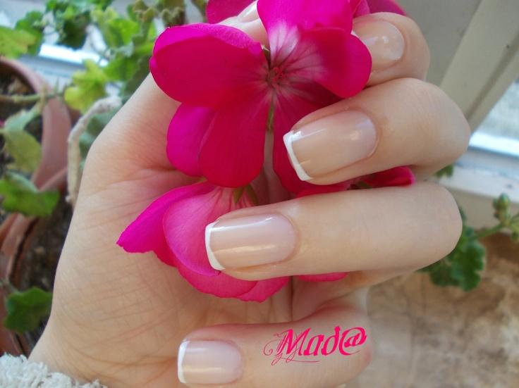 Nail Art: Tiny mini french ~ Life, passion and beauty