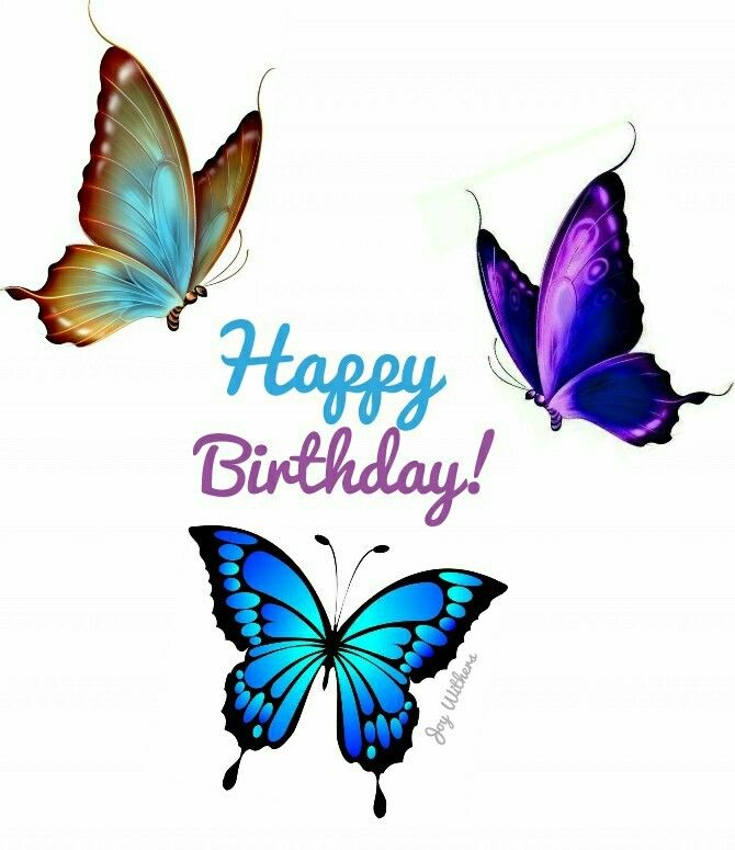 Butterfly Birthday Happy Birthday Wishes Cards Happy Birthday Greetings Happy Birthday Cards