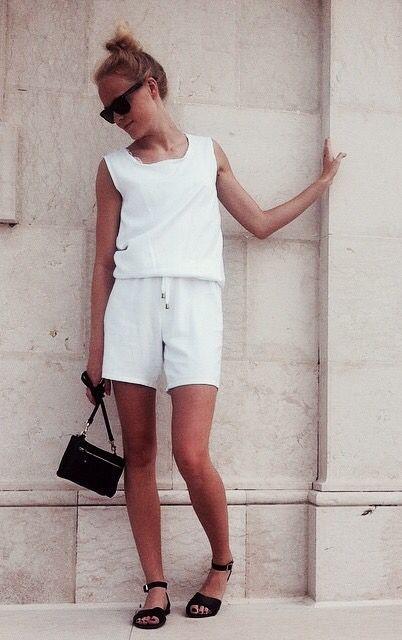 white jumpsuit // design by nicoline pigsborg // denmark