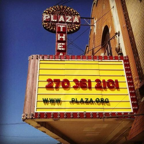 Plaza Theatre Glasgow Kentucky...