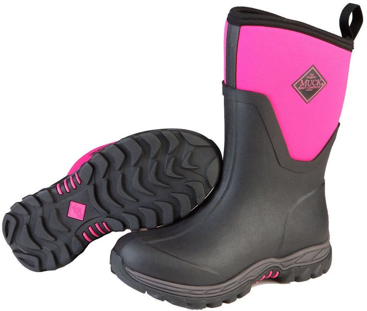 """As2M-400 Muck Boots Arctic Sport Ii Mid Pink """"Most Sizes"""""""