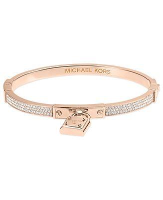 Michael Kors Bracelet, Padlock Charm Bracelet