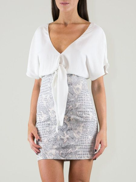 Shop Mini Dresses - Short Sleeve Elegant V Neck Sheath Party Dress online. Discover unique designers fashion at StyleWe.com.