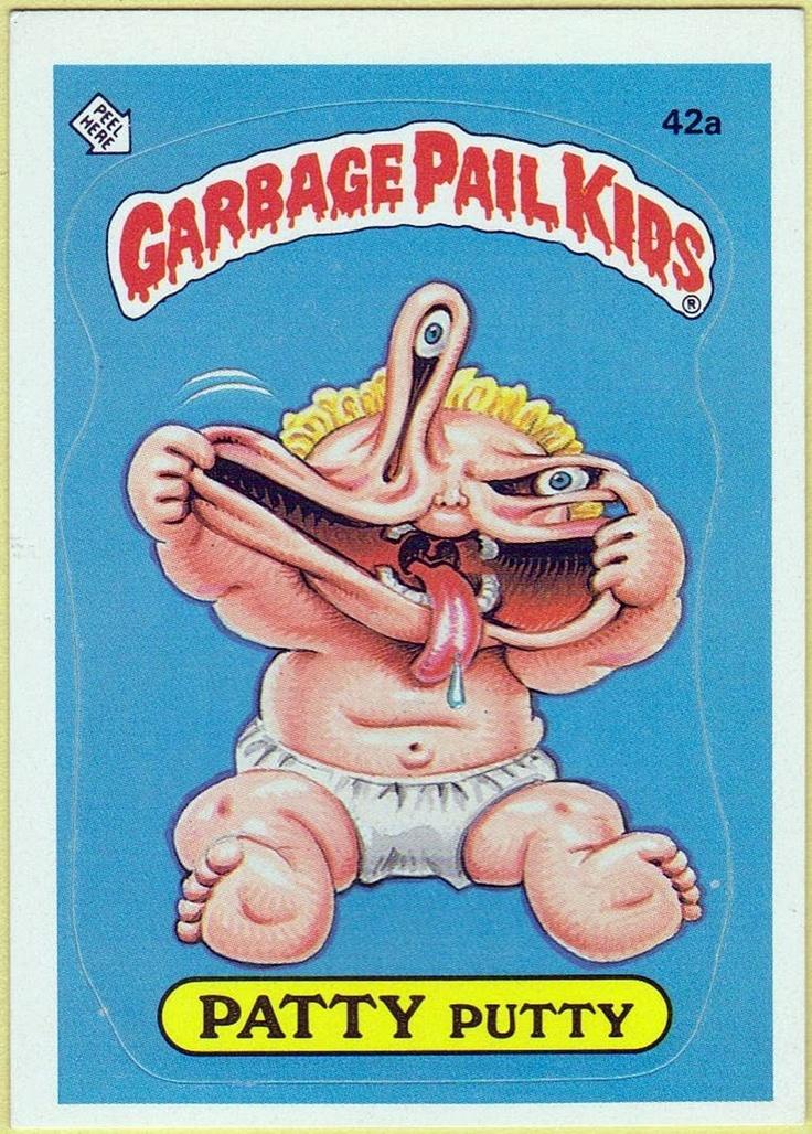 Garbage Pail Kids     i have some too  lol