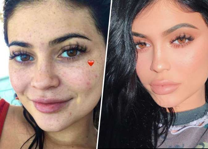 Maquillage Kylie Jenner