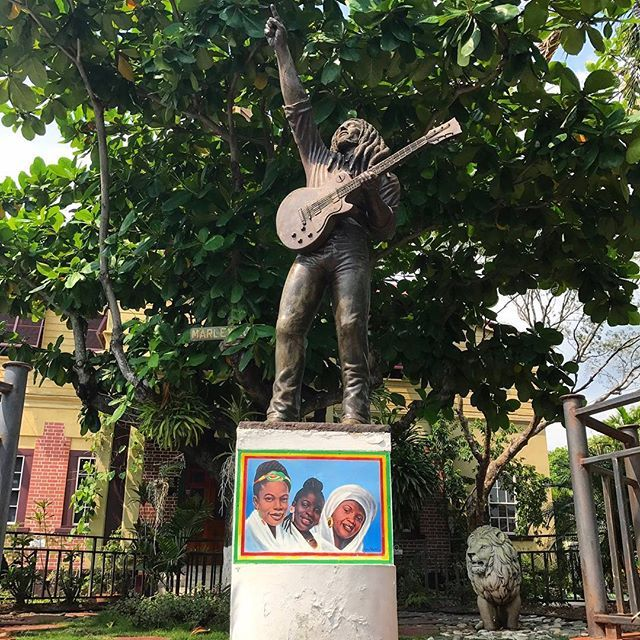 If you find yourself in Kingston, make sure to visit The Bob Marley Museum, former home to the reggae legend! #visitjamaica #homeofallright #holiday