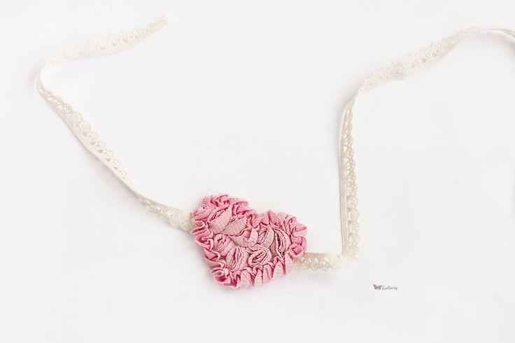 Повязка для волос - бледно-розовый,розовый,повязка для волос,повязка на голову