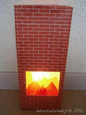 leeg sappak  steentjes papier  schaar  lijm  vliegerpapier wit rood oranje  led waxinelichtje  lampionnen stokje