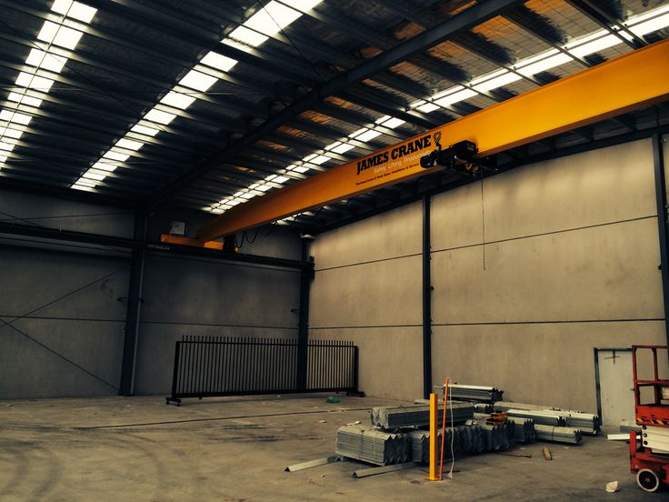 Single girder overhead crane at YDL Stone by James Crane