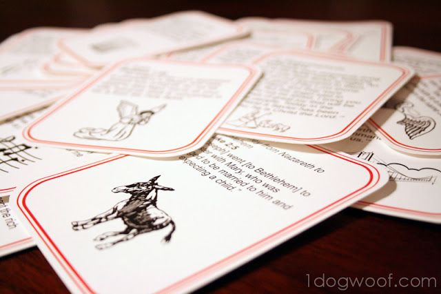 Scripture Advent Calendar   One Dog Woof   #Christmas #holiday
