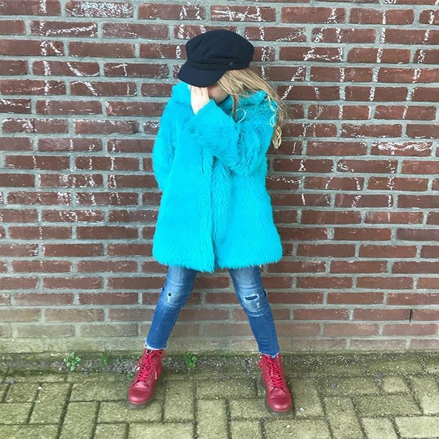 08ea20deeb4 No picture! #pino #blue #fakefur #toddler #momlife #momblogger ...