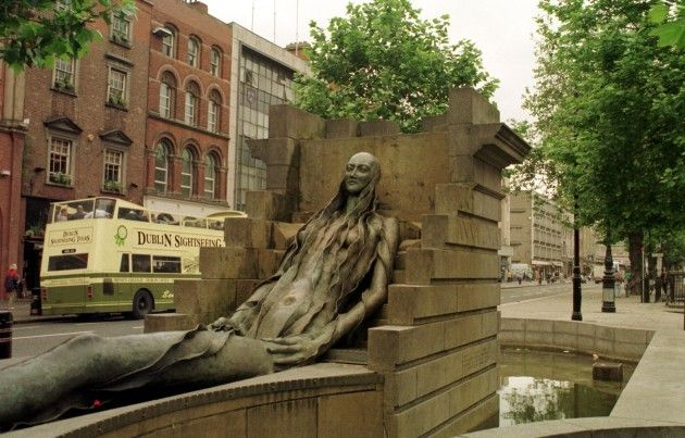 From 'The Floozie' to Father Ted: Dublin's park sculptures ...