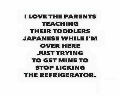 Parent Kid humor toddler child