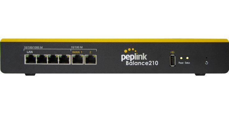 Peplink BPL-210 Balance 210 Dual-WAN Router