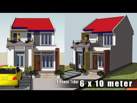 rumah lantai 2 minimalis dan sederhana || dua lantai || 4