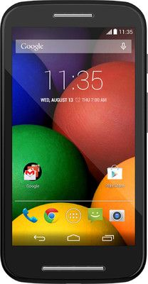 Motorola puts together a sharp display, the most advanced operating system, a powerful processor and dual SIM support in the form of Moto E, a mobile that is made for all.