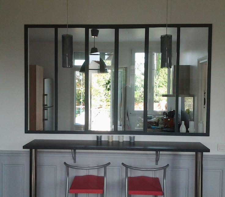les 16 meilleures images propos de verrieres acier sur pinterest atelier. Black Bedroom Furniture Sets. Home Design Ideas