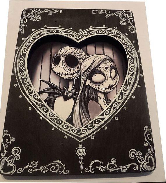 Day Of The Dead Dios De Los Muertos Nightmare by DanaChangingArt, $65.00