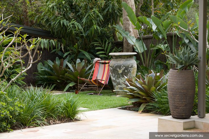 Tropical Garden Patio