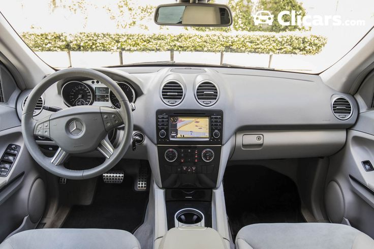 Cool Mercedes: Mercedes ML 320 CDI 4M (5p) (224cv) 2009 (Diésel) -  #Motor #Carroceria #Drive ...  Interiores de coches Check more at http://24car.top/2017/2017/07/09/mercedes-mercedes-ml-320-cdi-4m-5p-224cv-2009-diesel-motor-carroceria-drive-interiores-de-coches/