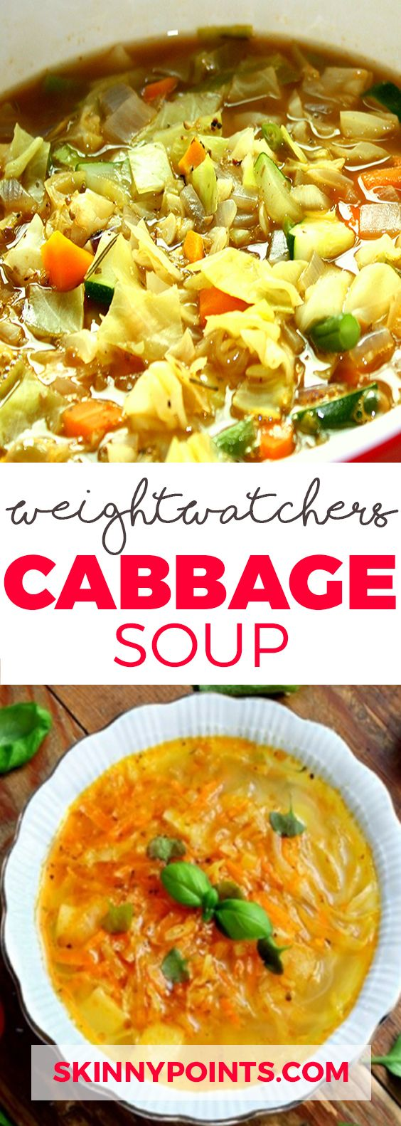 Weight Watchers Cabbage Soup - Come with Only 1 weight watchers SmartPoints