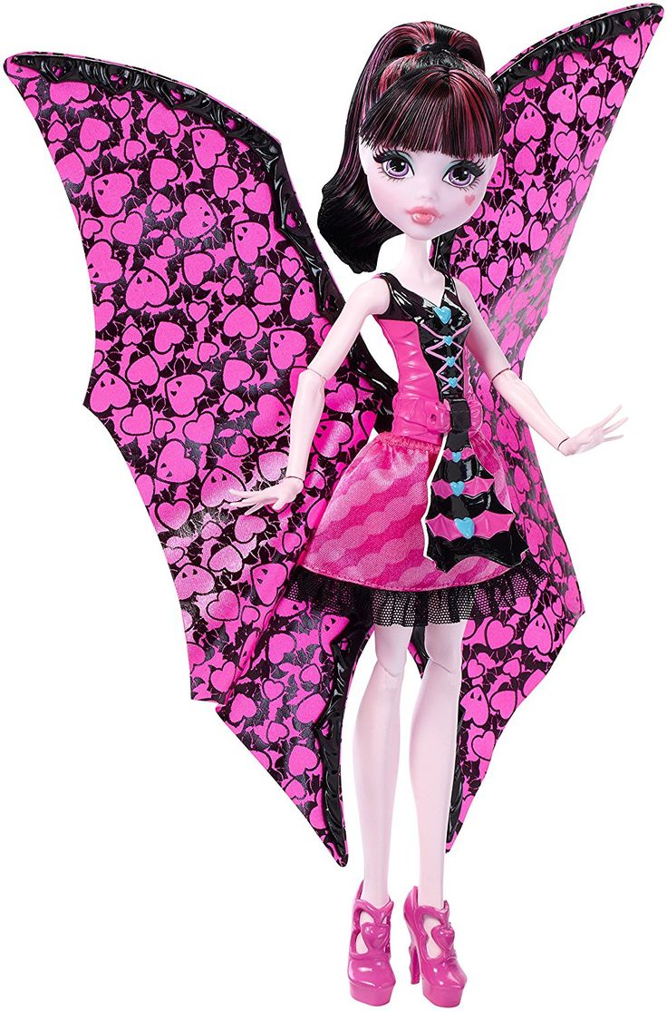 Boneca Monster High Draculaura - Transformação Morcego  Na Comprafari você encontra a Boneca Monster Draculaura da Mattel. Sua filha vai adorar fazer amizade com essa estilosa e diferente boneca da Mattel.
