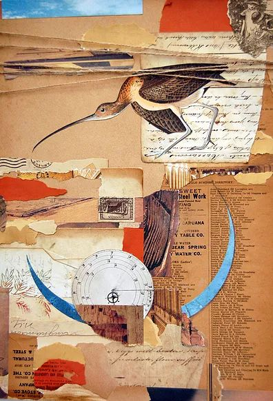 ephemera collage jennifer dowdell