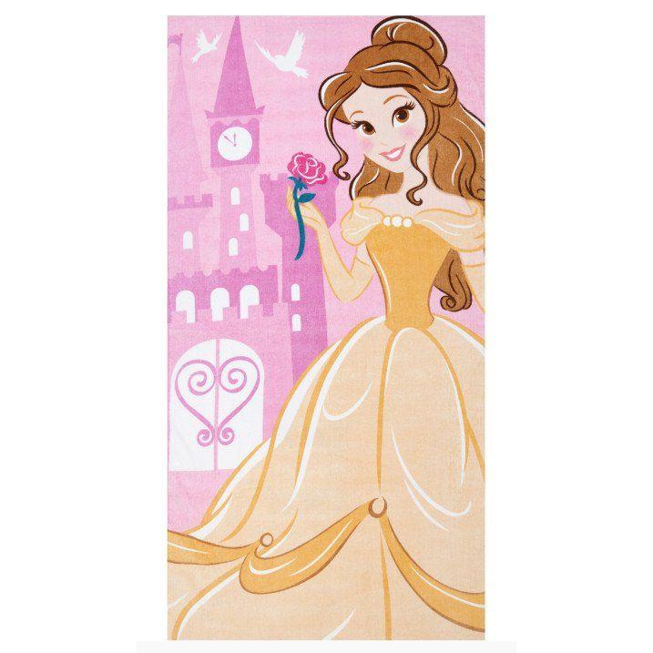 Disney Kaunotar & Hirviö Belle pyyhe