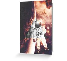 #GreetingCard #Space #Nebula #Galaxy #Astronaut #Stars #Photomanip #Triangle #WarmColors #Dream #SciFi