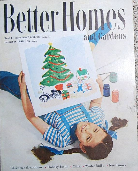 Resultado de imagen de better homes and garden vintage magazine