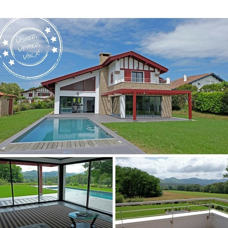 A Smart Holiday Rental With 4 En Suite Bedrooms And A Heated Private  Swimming Pool. And Just A Short Drive Into Gorgeous St Jean De Luz.