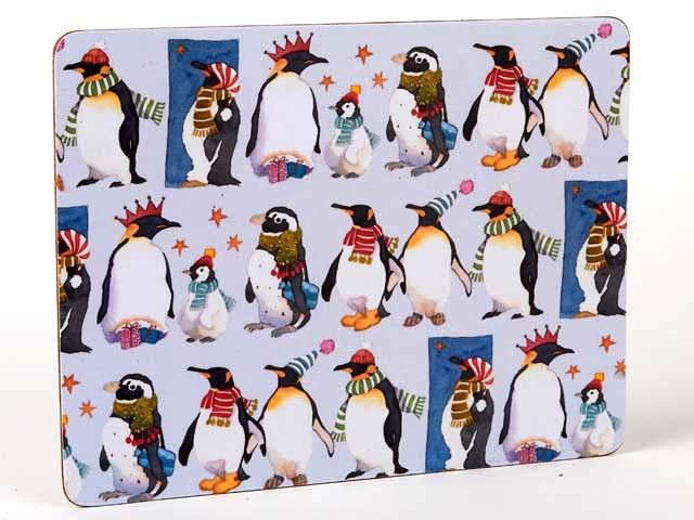 Winter Penguins Placemats (4pack)
