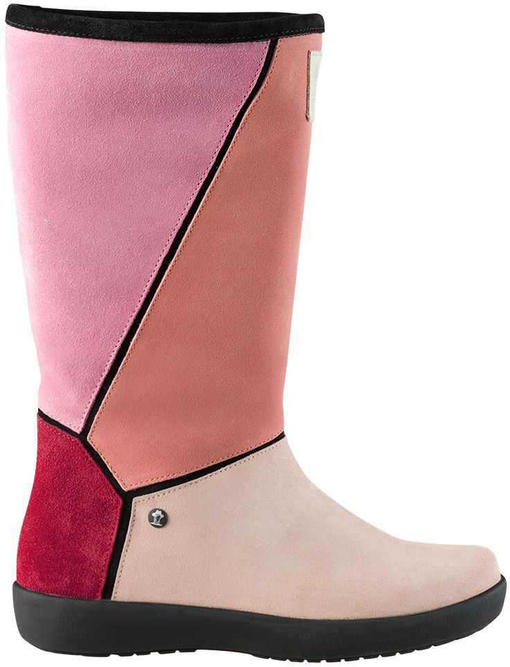 Panama Jack suede boots Mixy different pink colours sale 123 euro  https://www.panamajack.nl/dames/schoeisel/mixy-b4