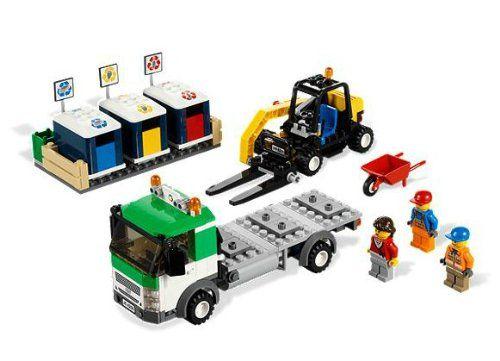 City - 301024 - Lego 4206 Le Camion De Recyclage: Amazon.fr: Jeux et Jouets