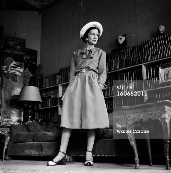1950 - Coco Chanel Paris - Getty Images