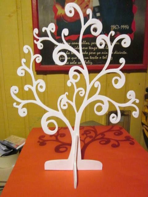 Árbol colgador de aros