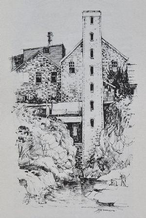 Paper mills, Buckley's Falls   http://bit.ly/INFElu  #geelong