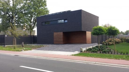 Moderne woning met hout google zoeken idee n voor het huis pinterest - Huis architect hout ...