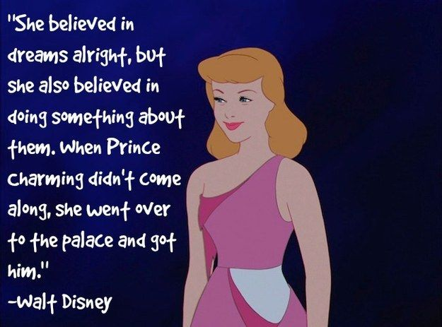 And Walt Disney's own interpretation of Cinderella. | 27 Feminist Disney Moments That Unapologetically Smashed The Patriarchy