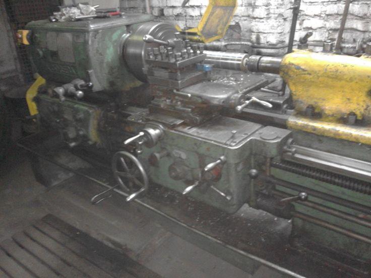 Tokarka PORĘBA TR 55/lathe/токарный станок/Drehmaschine