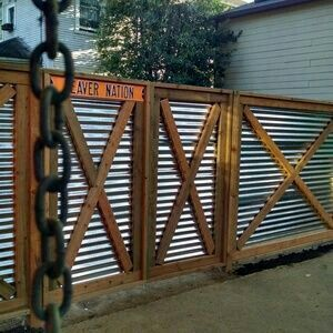 26 best fence images on pinterest landscaping gardening and privacy fences