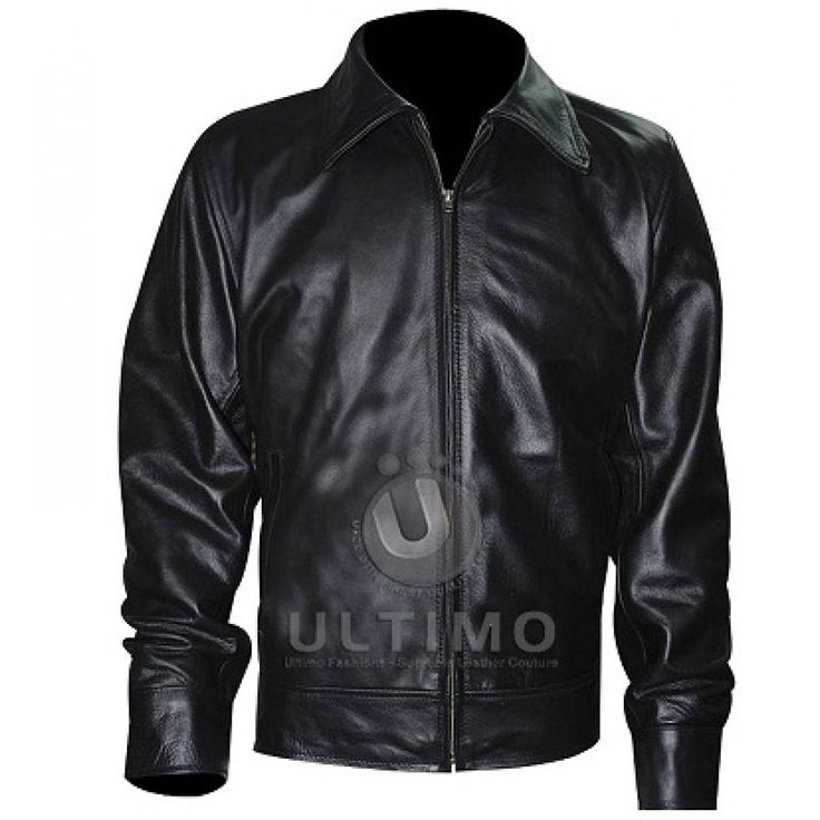 American Gangster Rusell Crowe (Richie Roberts) Leather Jacket