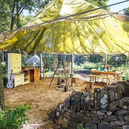 Snowdrop tents, Cambo Country Estate, Fife | 16 Wild Retreats In Scotland For People Who Don't Like Camping
