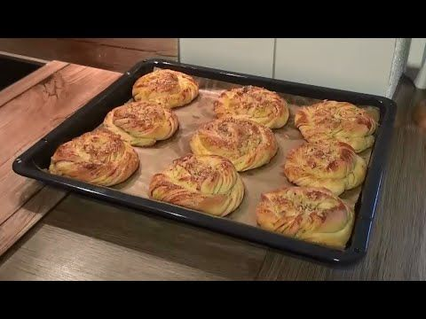 Tahinli Çörek Tarifi - YouTube