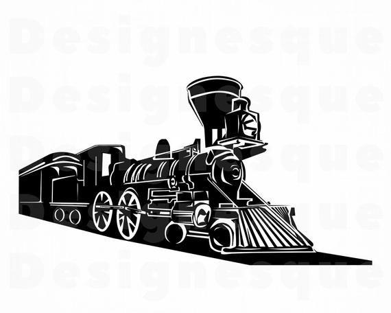 Train 3 Svg Train Svg Steam Engine Locomotive Train Etsy Train Clipart Steam Engine Train Vector