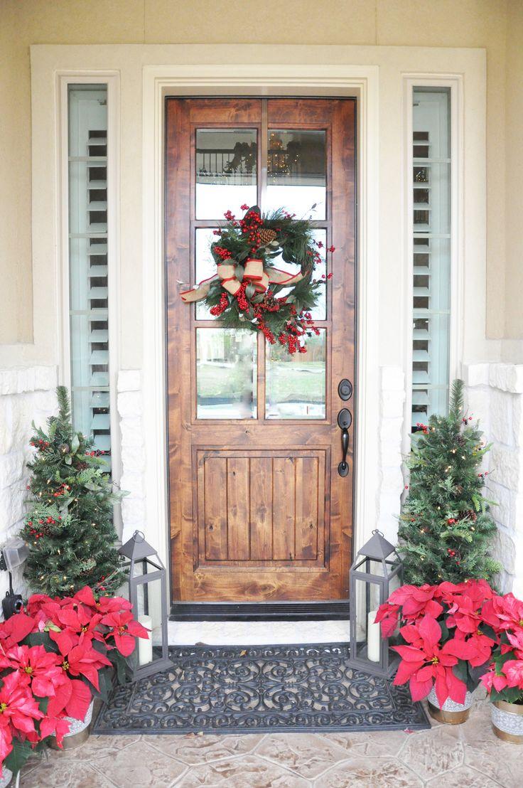Frohe Weihnachten, Freunde! Ich bin so froh, dass Sie hier sind! Kannst du das glauben …   – Christmas porch