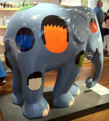 Copenhagen 2011 Title: Elefantens hoveder (The Elephant's Heads) Artist: Kristian Devantier