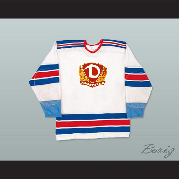 "Sports Club Dynamo Berlin Hockey Jersey Any Size Any Player or Number NEW. SHIPPING TIME IS ABOUT 3-5 weeksI HAVE ALL SIZES and can change Name and #(Width of your Chest)+(Width of your Back)+ 4 to 6 inches to account for space for a loose fit.Example: 18"" wide chest plus 18"" wide back plus 4"" of space, would be a size 40"".Please consider ordering a larger size, if you plan to wear protective sports equipment under the jersey.size chart chest:XS 30""-32"" Chest Measurement (76-81 cm)S 34""-36""…"