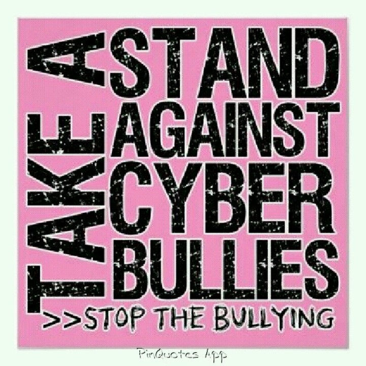 Cyber Bullying Quotes: 19 Best Cyberbullying Images On Pinterest