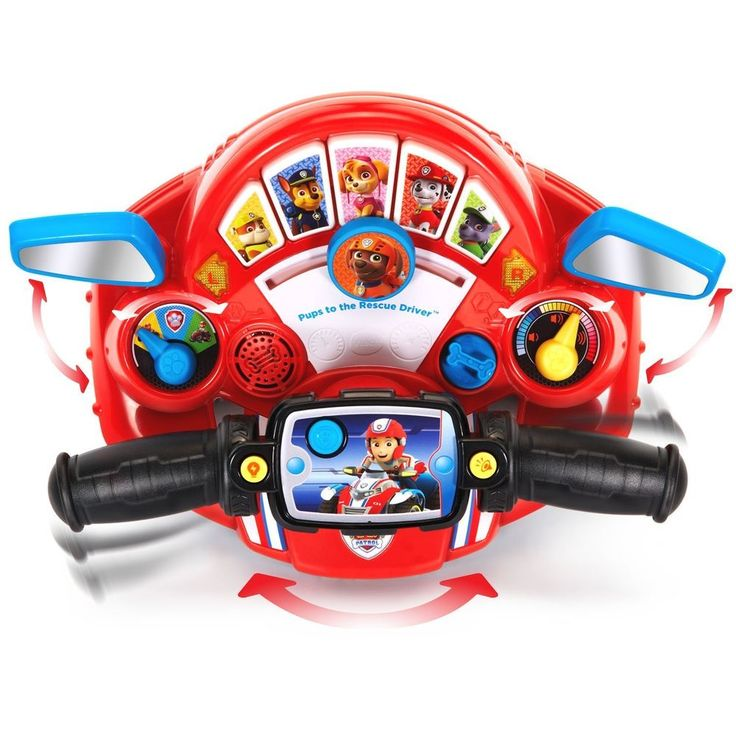 Fun Learning Vtech Paw Patrol Pups to the Rescue Driver Kid Interactive Toy Game